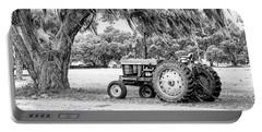 Coosaw - John Deere Parked Portable Battery Charger by Scott Hansen