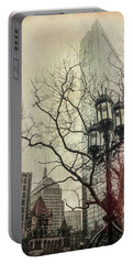 Portable Battery Charger featuring the photograph Copley Square - Boston by Joann Vitali