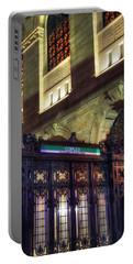 Portable Battery Charger featuring the photograph Copley Square T Stop - Boston by Joann Vitali
