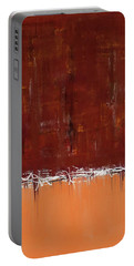 Copper Field Abstract Painting Portable Battery Charger