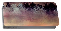 Portable Battery Charger featuring the digital art Copper Lake by Jessica Wright