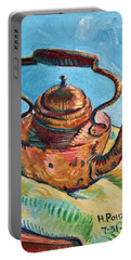 Copper Teapot Portable Battery Charger