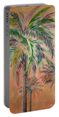 Copper Trio Of Palms Portable Battery Charger