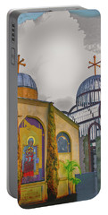 Coptic Church Rebirth Portable Battery Charger
