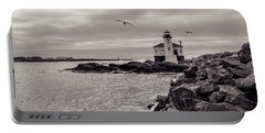 Coquille Lighthouse Oregon  Portable Battery Charger