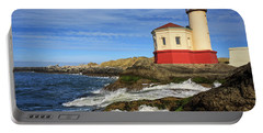 Coquille River Lighthouse At Bandon Portable Battery Charger