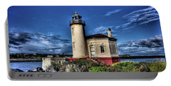 Coquille River Lighthouse Portable Battery Charger by Thom Zehrfeld