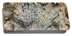 Portable Battery Charger featuring the photograph Coral Fossil by Jean Noren