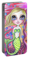Coral Reef Mermaid Portable Battery Charger