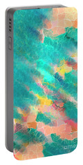 Coral Sea. Modern Decor Collection Portable Battery Charger by Mark Lawrence
