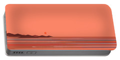 Coral Sea Portable Battery Charger by Val Arie