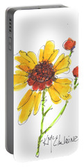 Coreopsis By Kathleen Mcelwaine Portable Battery Charger