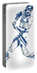 Corey Seager Los Angeles Dodgers Pixel Art 10 Portable Battery Charger