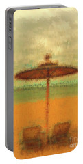 Portable Battery Charger featuring the photograph Corfu 18 - Mirage by Leigh Kemp