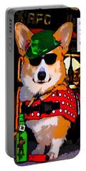 Corgi - Drinks Well With Others Portable Battery Charger