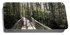 Corkscrew Swamp 697 Portable Battery Charger by Michael Fryd
