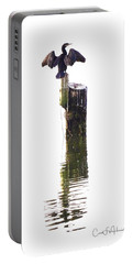 Cormorant Sunning Portable Battery Charger