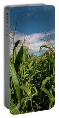 Portable Battery Charger featuring the photograph Corn 2287 by Guy Whiteley