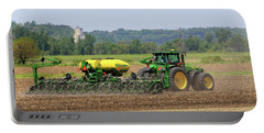 Corn Planting Fremont County Iowa Portable Battery Charger