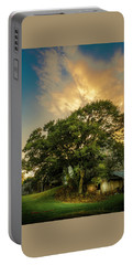 Portable Battery Charger featuring the photograph Corner Oak by Marvin Spates