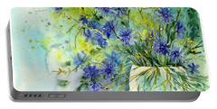 Cornflowers Symphony Portable Battery Charger