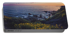 Corona Del Mar Super Bloom Portable Battery Charger