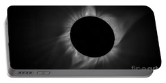 Corona During Total Solar Eclipse Portable Battery Charger