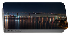 Portable Battery Charger featuring the photograph Coronado Bridge San Diego by Gandz Photography