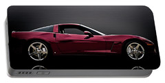 Corvette Reflections Portable Battery Charger by Douglas Pittman