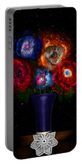 Cosmic Bouquet Portable Battery Charger