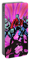 Cosmic Guardians Of The Galaxy 2 Portable Battery Charger
