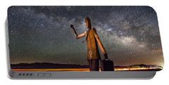 Cosmic Hitchhiker Portable Battery Charger