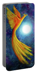 Cosmic Phoenix Rising Portable Battery Charger