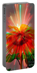 Cosmic Sunflower Portable Battery Charger