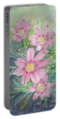Cosmos - Painting Portable Battery Charger by Veronica Rickard