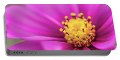 Portable Battery Charger featuring the photograph Cosmos Pink Sensation by Sharon Mau