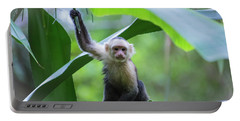 Costa Rica Monkeys 1 Portable Battery Charger