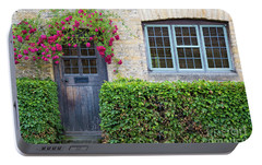 Portable Battery Charger featuring the photograph Cotswolds Cottage Home by Brian Jannsen
