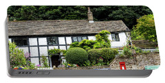 Traditional Cheshire Cottage At The Crossroad Portable Battery Charger