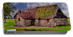Cottage In The Highlands Portable Battery Charger by Anthony Dezenzio