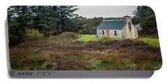 Cottage In The Irish Countryside Portable Battery Charger