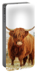cottish Highland Cow Loch Lomond Portable Battery Charger