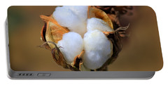 Cotton Boll Portable Battery Charger