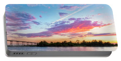 Cotton Candy Sunset Portable Battery Charger