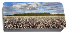Cotton Field Portable Battery Charger