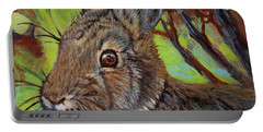 Cotton Tail Rabbit Portable Battery Charger