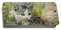 Cotton The Kitten Portable Battery Charger