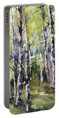 Cottonwoods And Sycamores Portable Battery Charger