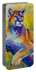 Cougar Portrait I Portable Battery Charger