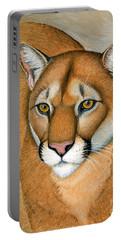Cougar Portrait Portable Battery Charger